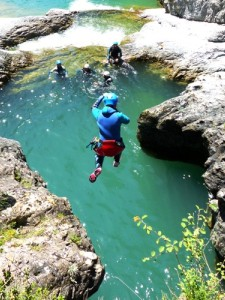 Canyoning du Miraval Intégral, St Lary