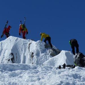 ski de rando aneto