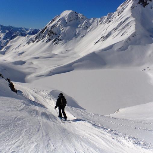 Lac d'Oncet, itinéraire classique du Pic du Midi de Bigorre