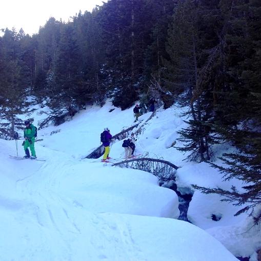 ski hors piste baqueira