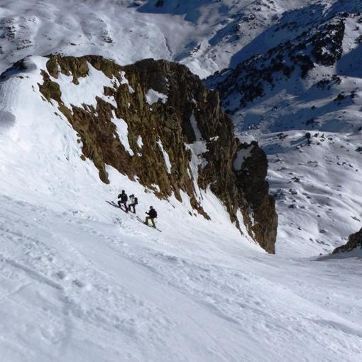 guide ski hors piste dans les Pyrénées