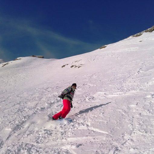 snowboard au pic du midi